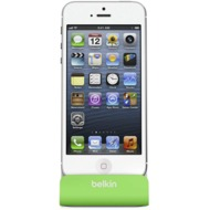 Belkin Sync-/ Lade-Dock für iPhone 5/ 5S/ SE, grün-grau