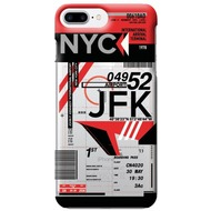 Benjamins AirPort New York (John F. Kennedy) - Silikon Cover - Apple iPhone 7 Plus /  iPhone 8 Plus