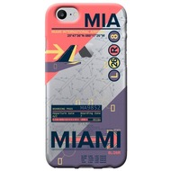 Benjamins AirPort Miami - Silikon Cover - Apple iPhone 7 /  8