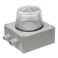 Bezet Rufsignal Blitz Typ 870, IP 65, klar, optische Rufanzeige, Abdeckung (Lichtfilter) klar-transparent, Schutzart IP 65