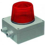 Bezet Rufsignal Blitz Typ 870, IP 65, rot, optische Rufanzeige, Abdeckung (Lichtfilter) rot, IP 65