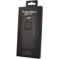 Blackberry Blackberry Leder Smart Flip Case - Blackberry KEYone - schwarz