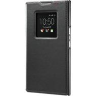 Blackberry Flip Cover Leder für Priv, Schwarz