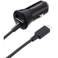 Blackberry Kfz-Schnellladekabel 12V (Micro-USB) mit USB-Anschluss