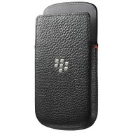 Blackberry Leather Pocker f�r Q10, schwarz