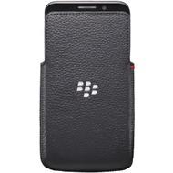 Blackberry Ledertasche für Leap, Schwarz