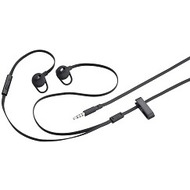 Blackberry Premium Flachkabel In-Ear Stereo Headset, schwarz