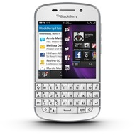 Blackberry Q10 (QWERTZ), White