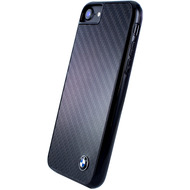 BMW Carbon Fiber Hardcover, Apple iPhone 7 und 8, Schwarz