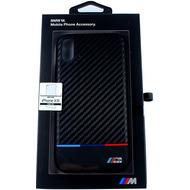 BMW Karbon, TPU Case, Apple iPhone XR, Schwarz
