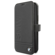 BMW Logo Imprint - Apple IPhone 11 - Leder Hard Cover Case Schutzhülle Hülle Tasche