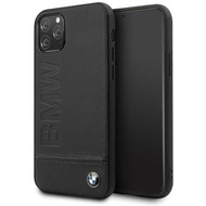 BMW Logo Imprint - Apple IPhone 11 Pro Max - Leder Hard Cover Case Schutzhülle Hülle