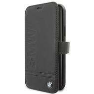 BMW Logo Imprint - Apple IPhone 11 Pro Max - Leder Hard Cover Case Schutzhülle Hülle Tasche