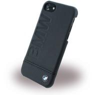 BMW Signature Imprint Logo - Leder HardCover - Apple iPhone 7 - Schwarz