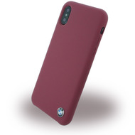 BMW Signature, Silikon Cover, Apple iPhone X, Burgund