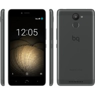 BQ Aquaris U Plus, black/ anthracite grey