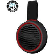 Braven 105 Active Series Bluetooth-Lautsprecher, 800mAh, IP67, grau/ rot