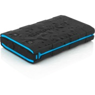 Braven BRV-BANK Rugged Backup Battery, 6.000mAh, schwarz/ cyan