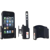 Brodit Handyhalter mit Kugelgelenk für iPhone 4 mit Bumper (gepolstert)