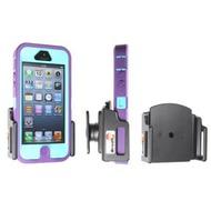 Brodit Handyhalter mit Kugelgelenk für iPhone 5/ 5S/ SE mit Skin