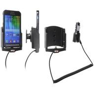 Brodit Samsung Galaxy Xcover 3 KFZ-/ Autohalterung mit Ladefunktion über Zigarettenanzünder