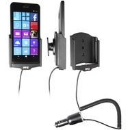 Brodit Nokia Lumia 640 XL KFZ-/ Autohalterung mit Ladefunktion über Zigarettenanzünder