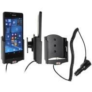 Brodit Microsoft Lumia 950 KFZ-/ Autohalterung mit Ladefunktion über Zigarettenanzünder