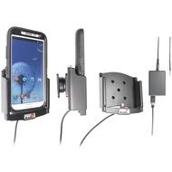 Brodit Aktivhalter für Samsung Galaxy Note 2 mit Otterbox Defender Hülle (Festinstallation)
