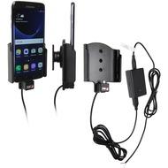 Brodit Samsung Galaxy S7 Edge KFZ-/ Autohalterung mit Ladefunktion (Festinstallation)