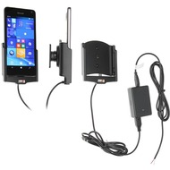 Brodit Microsoft Lumia 650 KFZ-/ Autohalterung mit Ladefunktion (Festinstallation)