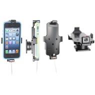 Brodit Aktivhalter-Clip mit Pass-Through Connector für iPhone 5/ 5S/ SE mit Standard Skin (Lightning)