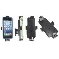 Brodit Aktivhalter-Clip mit Pass-Through Connector für iPhone 5/ 5S/ SE mit Standard Skin (Lightning-30Pin)