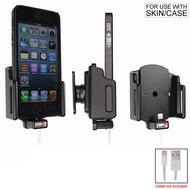 Brodit PDA Halter passiv iPhone 5/ 5S/ SE mit Slim-Hülle (Lighting to USB)
