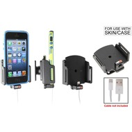 Brodit PDA Halter passiv iPhone 5/ 5S/ SE mit Apple-Hülle (Lighting to USB)