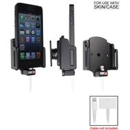 Brodit PDA Halter passiv iPhone 5/ 5S/ SE mit Slim-Hülle (Lightning to 30-pin)