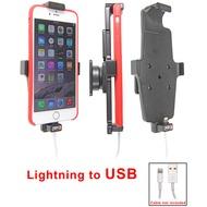Brodit PDA Halter passiv Apple iPhone 6 Plus Kabelaufn. Lightn. zu USB mit Hülle