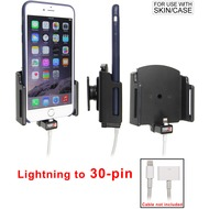 Brodit PDA Halter passiv Apple iPhone 6 Plus Kabelauf. Lightn. 30-Pin dün. Hülle