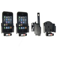 Brodit Aktivhalter mit Pass-Through Connector f�r iPhone 4 mit Skin