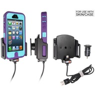 Brodit Apple iPhone 5 KFZ-/ Autohalterung mit USB-Ladefunktion