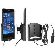 Brodit Microsoft Lumia 950 KFZ-/ Autohalterung mit USB-Ladefunktion