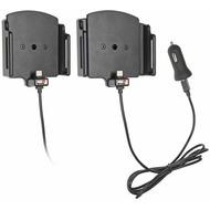 Brodit Universal PDA Halter aktiv mit USB Typ C (B: 75-89 mm, T: 6-10 mm)