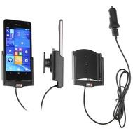 Brodit Microsoft Lumia 650 KFZ-/ Autohalterung mit USB-Ladefunktion