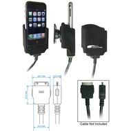 Brodit Handyhalter Apple iPhone mit Kabelbefestigung für Nachbau-Kabel (siehe Bild)