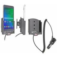 Brodit Samsung Galaxy Alpha KFZ-/ Autohalterung mit Ladefunktion über Zigarettenanzünder