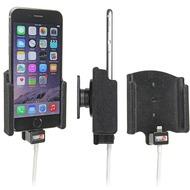 Brodit KFZ Halterung für Apple iPhone 6, aktiv und gepolstert Kabelaufnahme Lightning zu USB