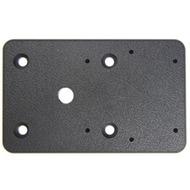 Brodit Montage-Platte - 80 x 50 x 5 mm