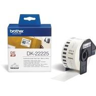 Brother DK-22225 Endlosetiketten (Papier, weiß, 38 mm)