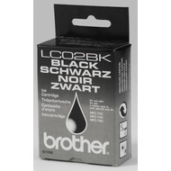 Brother Tintenpatrone (LC02BK) schwarz