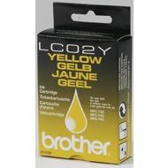 Brother Tintenpatrone (LC02Y) gelb
