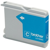 Brother LC-1000C Tintenpatrone Cyan